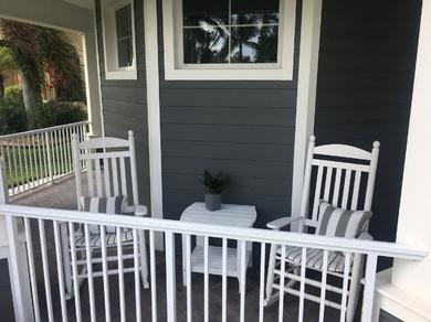 Veranda im Key West Style der Villa Happy Diamond, Cape Coral